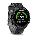 Garmin - Forerunner 235 GPS Running Watch - Black/Gray