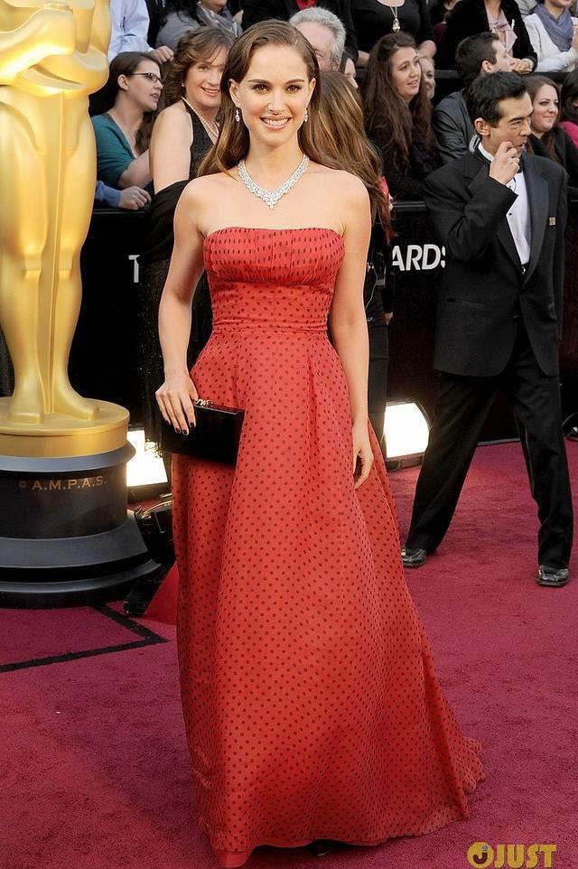 vestido de Natalie Portman Oscar 2012