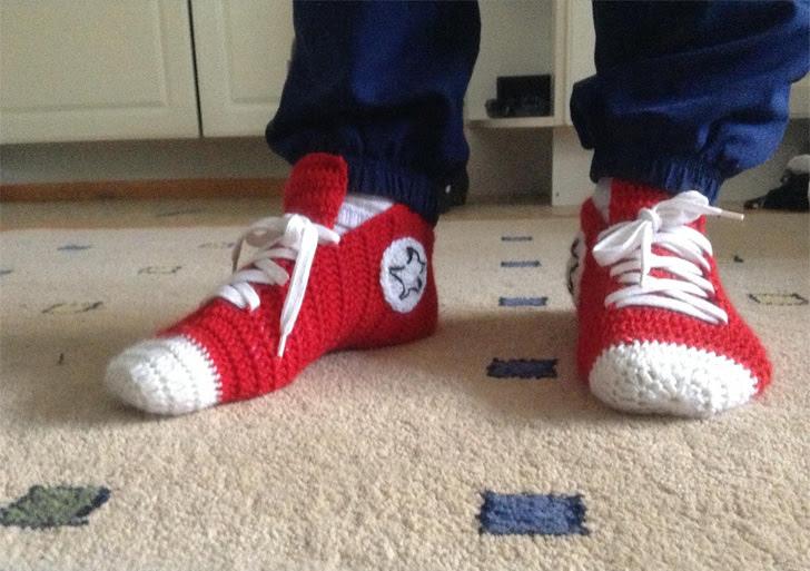 crochet-converse-chinelos