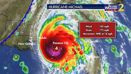 HURRICANE MICHAEL TRACK: LIVE UPDATES: Tropical Storm warnings issued in Georgia for Hurricane Michael