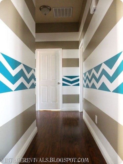 Hailee's Hallway with the ScotchBlue Painting Party! - Vintage ...