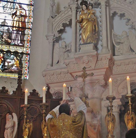 Fresneau Sainte Messe tridentine le 1er mai 2017
