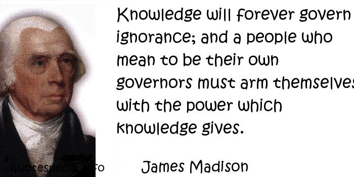 Image result for james madison quotes