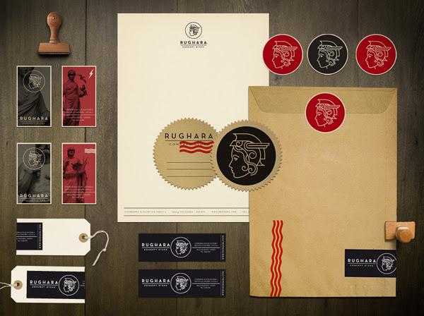 5db1eefbb4cc4c472050a8ae71b97b4a1 60 Professional Examples of Stationery Design