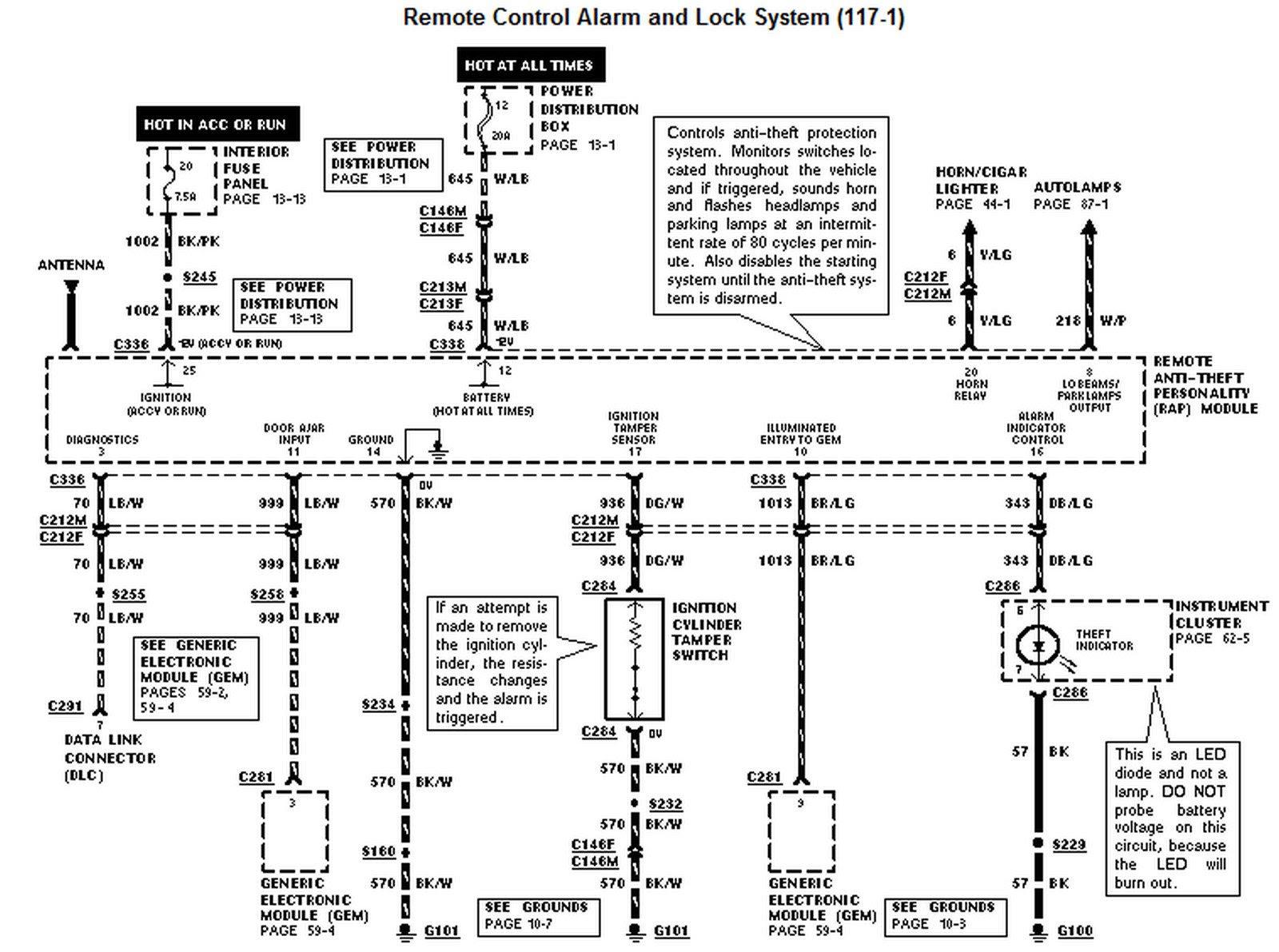 audiovox alarm wiring diagram image 7