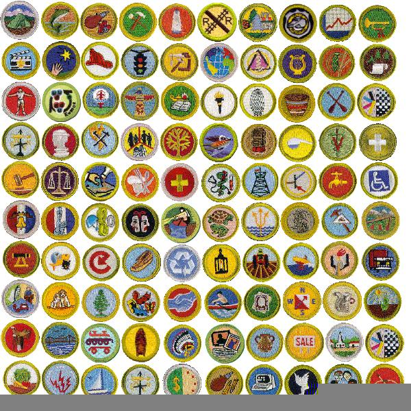 Merit Badges Names | Free Images at Clker.com - vector ...