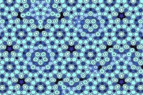 Modelo atómico de los cuasicristales. | AFP