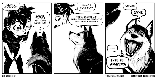 Three Panel Soul  » Archive  » dog philosophy