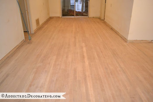 The CORRECT Way To Sand Hardwood Floors - Addicted 2 Decorating®