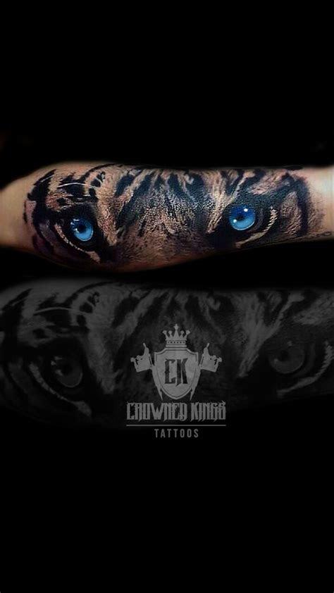 tiger eyes tattoos ideas