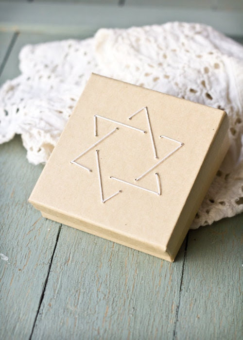 Star of David Gift Card Box - Espieglerie