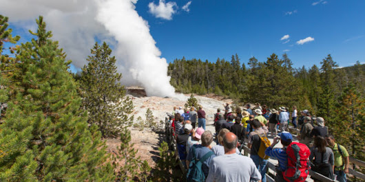 Steamboat Geyser Erupts for Fourth Time This Year