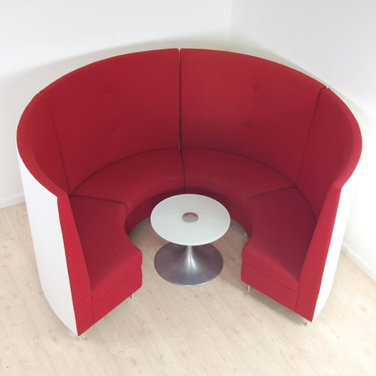 The Forum Meeting Sofas designed by Davison Highley