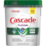 Cascade Platinum Actionpacs Dishwasher Detergent Fresh 92