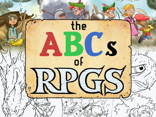 The ABCs of RPGs - Books and Coloring for Adults and Kids! by Hunters Books —  Kickstarter