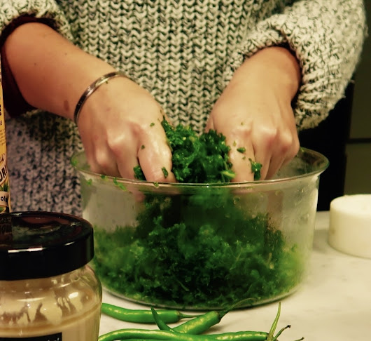 All Hail The Kale: Massaged Kale Recipe