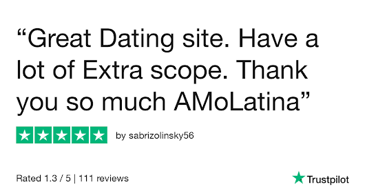 sabrizolinsky56 gave AmoLatina 5 stars. Check out the full review...