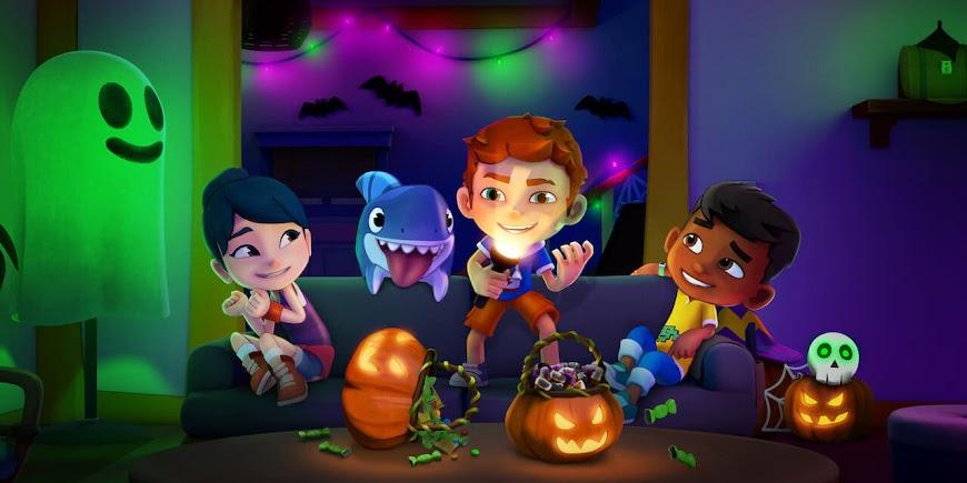 Sharkdog's Fintastic Halloween (2021) Streaming Full