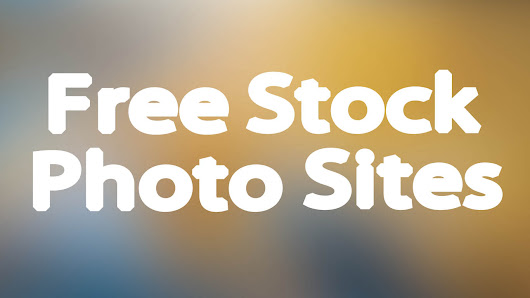 Free Stock Photography Websites - |