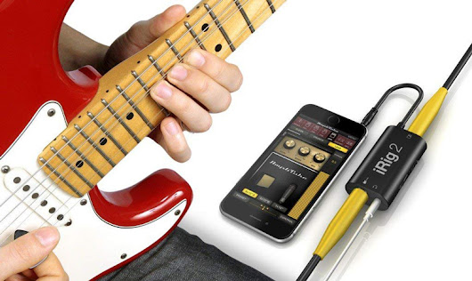 iRig 2 Guitar Interface Adaptor for iPhone, Mac and Android