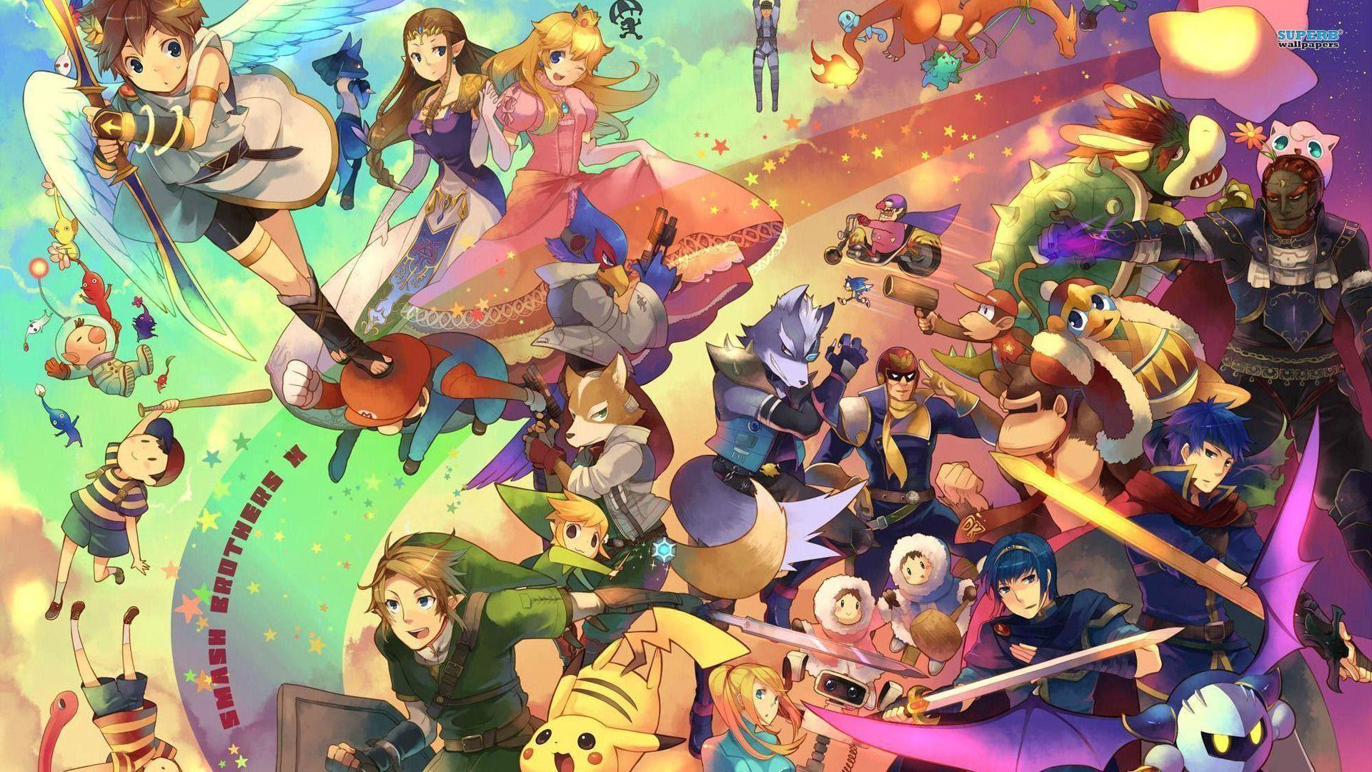 Super Smash Brothers Wallpaper 75 Images