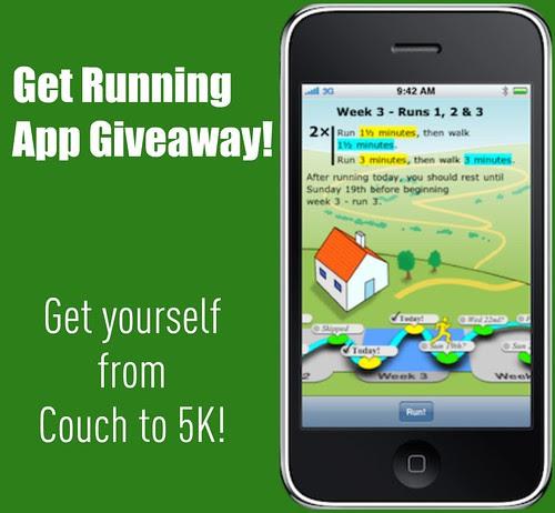 GetRunning app giveaway