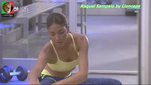 Raquel Sampaio sensual na novela Vidas Opostas
