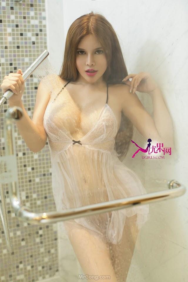 Ngộp thở với màn khoe ngực sexy của người đẹp BlairQueena (布莱尔昆娜) trong bộ ảnh UGIRLS 099 - Page 3 of 3