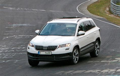 Skoda Karoq mini SUV revealed: spy photos by CAR Magazine