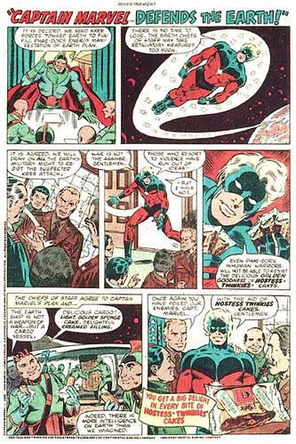 captain marvel hostess ad