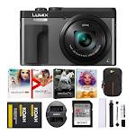 Panasonic LUMIX DC-ZS70 20.3MP 4K Digital Camera (Black) Holiday Bundle