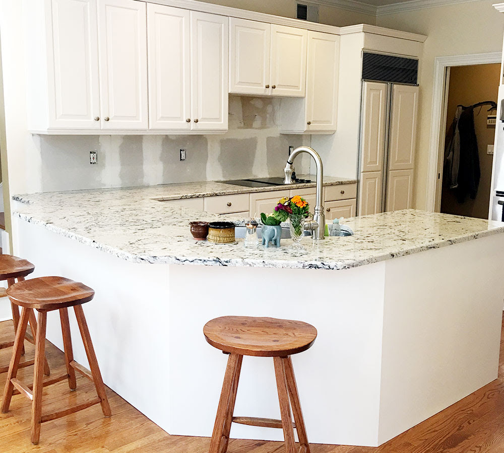 Wilton Connecticut Kitchen Cabinet Refacing - Classic ...