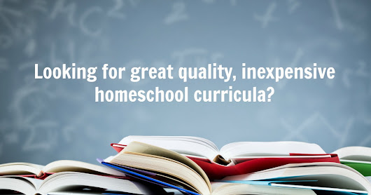 Free and Inexpensive Homeschool Curriculum - Homeschooling with Dyslexia