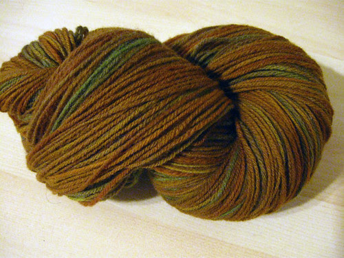 Chain-plied Merino from Sunset Fibers