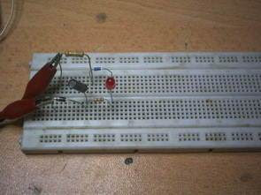 Điện áp AC 230V không có biến áp đơn giản Mạch Flasher