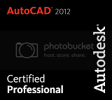 AutoCAD 2012 Certified Professional