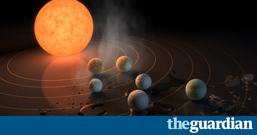 Thrilling discovery of seven Earth-sized planets orbiting nearby star | Science | The Guardian