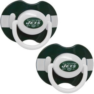NFL New York Jets 2 Pack Pacifier