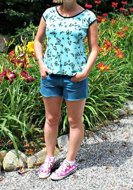 Butterfly Casual Lady by Kitschy Coo