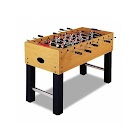 BrainBoosters 52 Soccer Foosball Table with Chrome Steel Rods BR62100