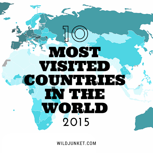 10 Most Visited Countries in the World 2015 - Wild Junket