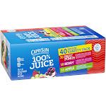 Capri Sun 100% Juice Blend, Variety Pack - 40 pack, 6 fl oz pouches