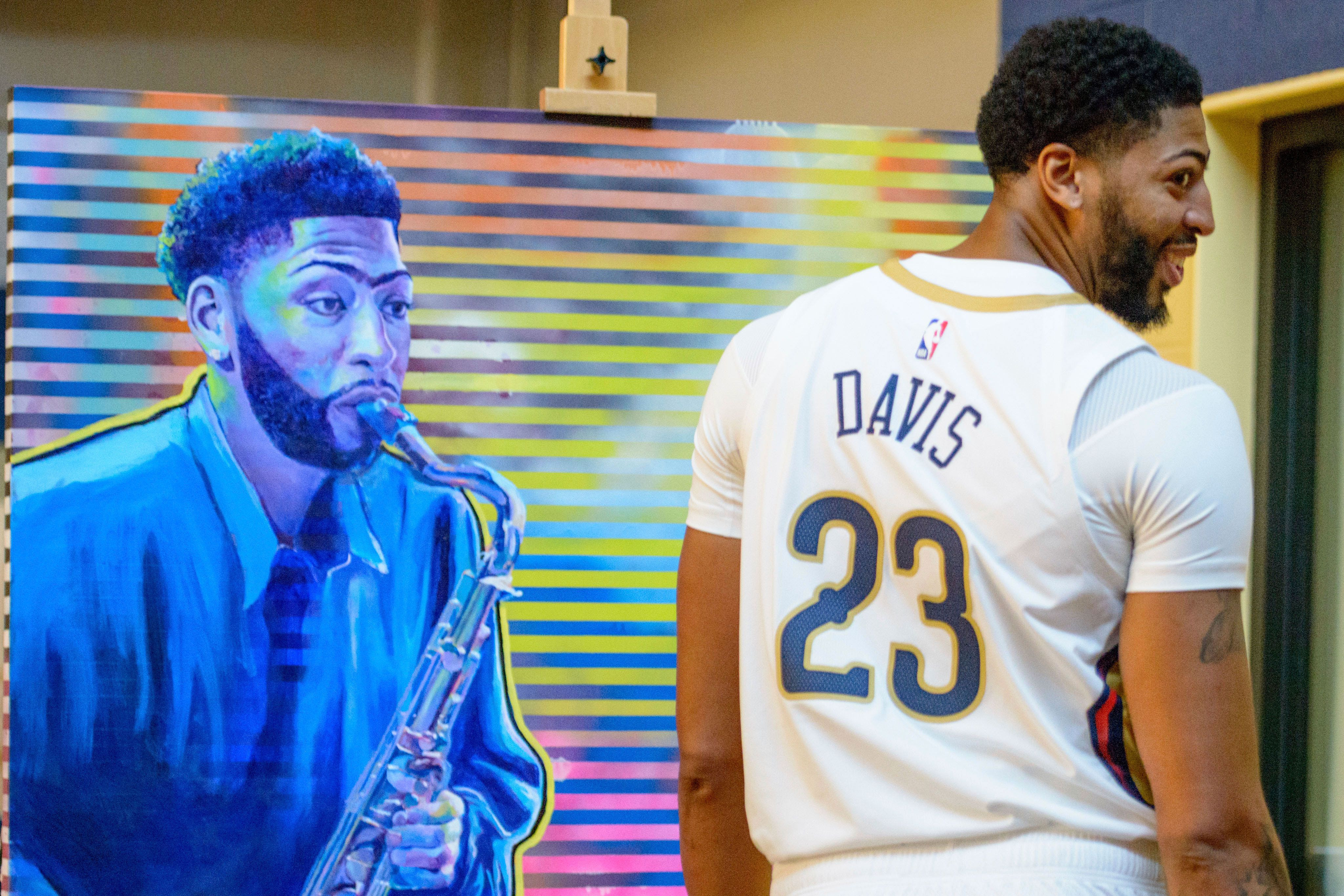 View|28+ Anthony Davis Daughter Pictures