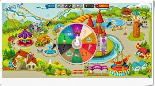 """""""Las 7 llaves"""" es un juego en el que, en el parque de las matemáticas, ..."""