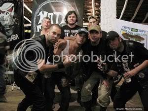 foto integrantes do moto clube Bodinho`s de Itapetininga, SP