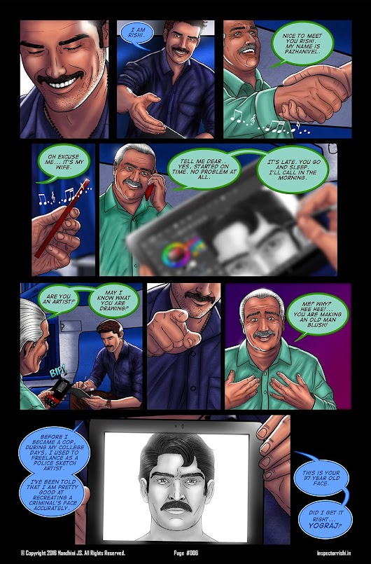 Inspector Rishi - Page 6 I 'could' have started this comic with a...