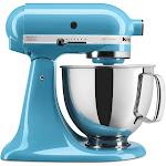 KitchenAid Artisan KSM150PSCL 5-Quart Stand Mixer - Crystal Blue