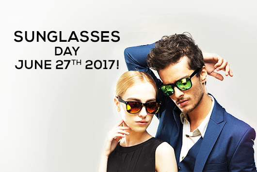 This 27th June, 2017 Make Sure You Splurge With UV Protected Sunglasses!