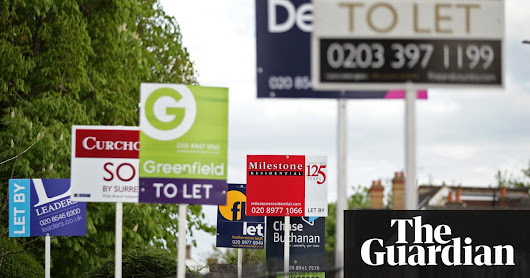 UK tenants paid record £50bn in rents in 2017 | Money | The Guardian