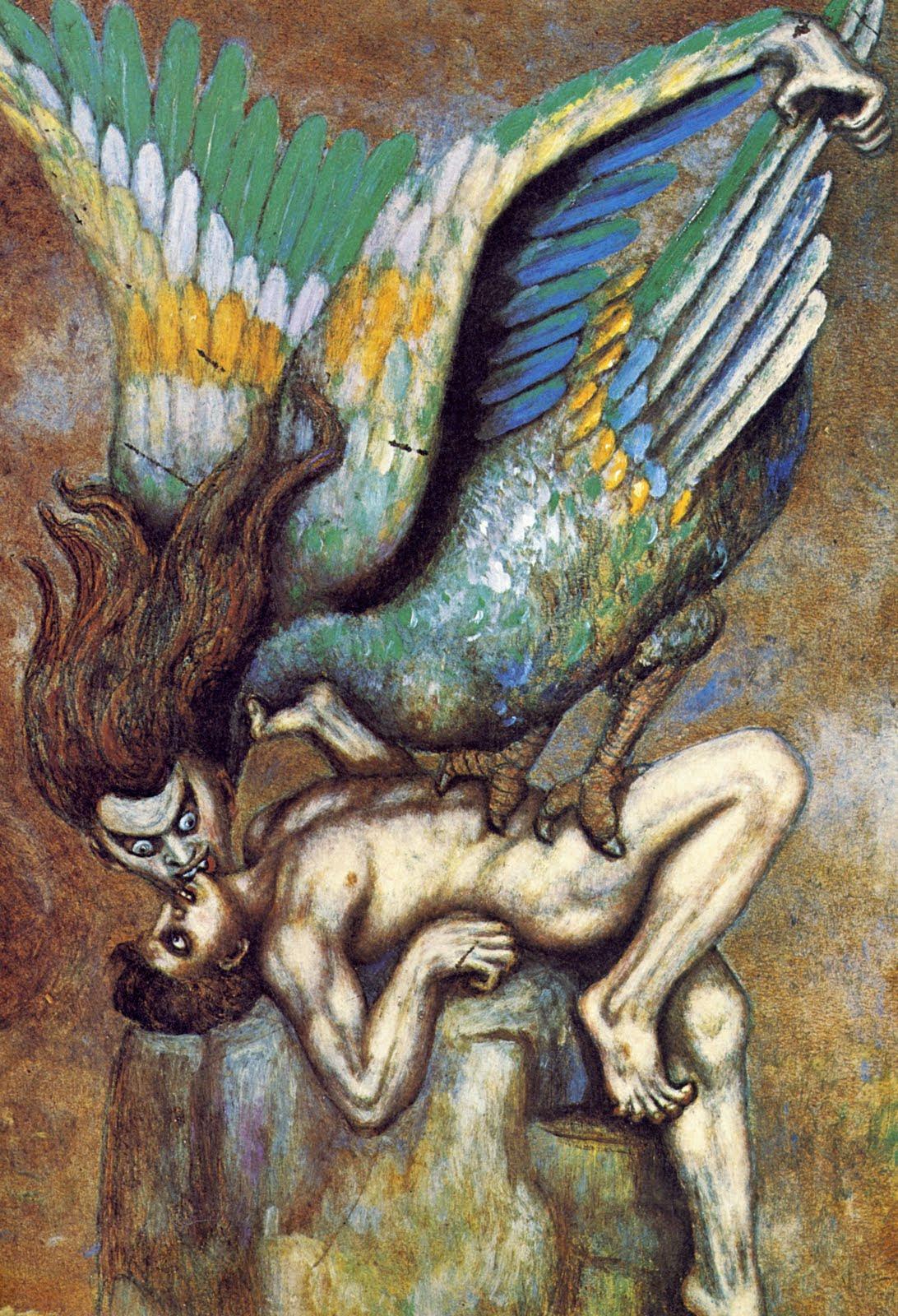 Boleslaw Biegas - Kiss of the Vampire, 1916